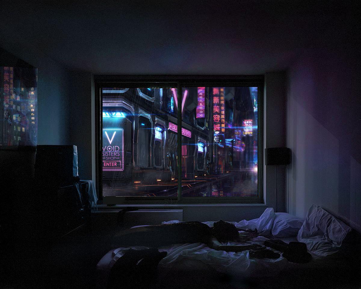 Best Dark Future Cyberpunk Brutalismo Rascacielos Y Otras 400 x 300