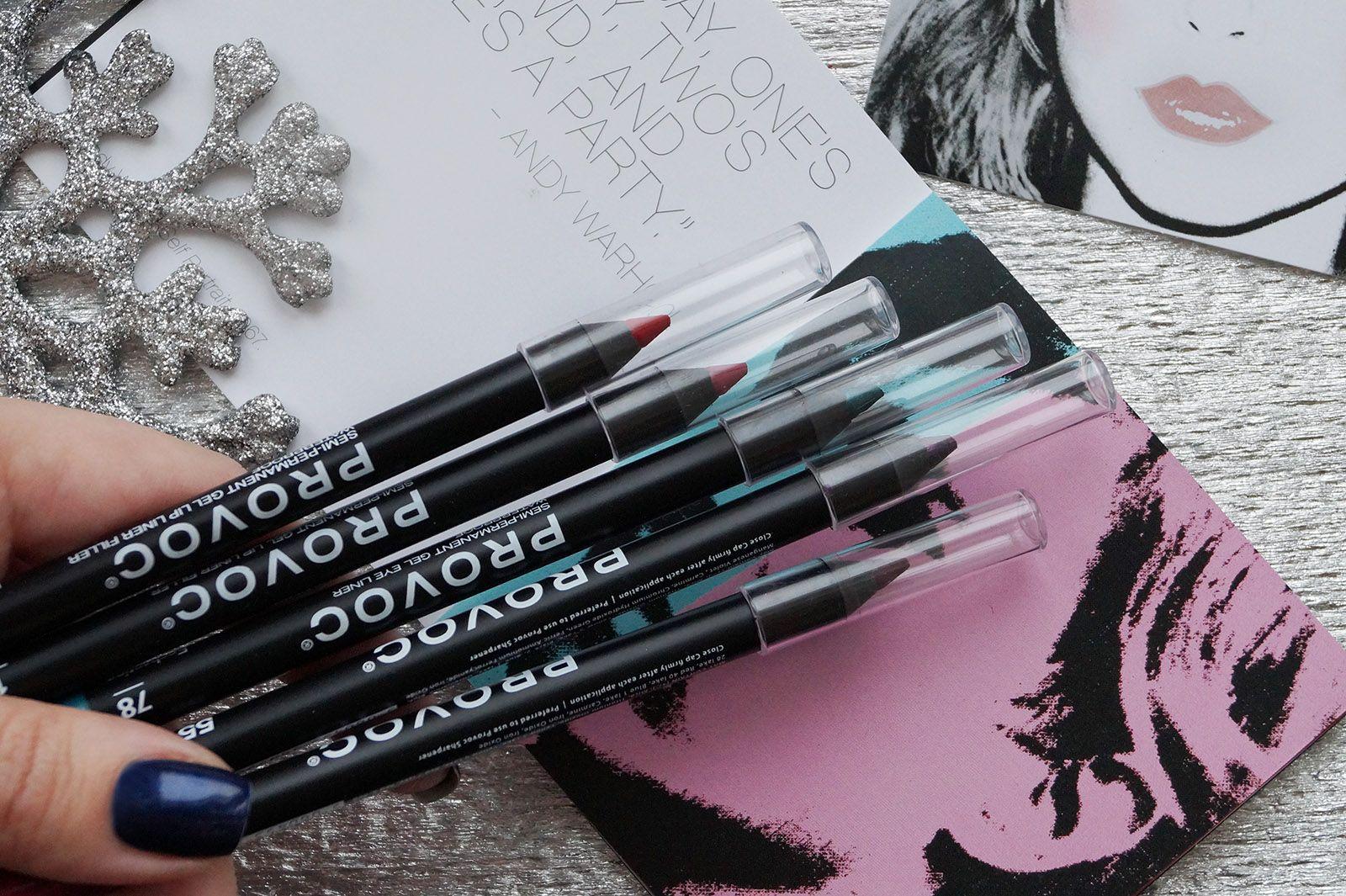 Полуперманентные гелевые карандаши Provoc (With images