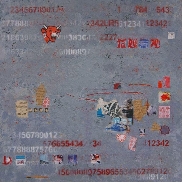 Tiphaine DESCAMPS artiste peintre chartres | Collages et acrylique ...