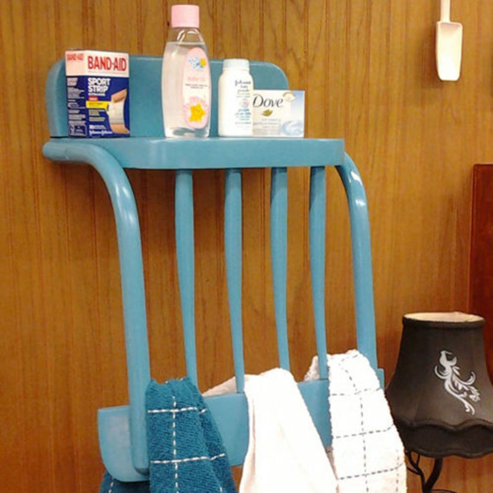 Hanging Upside Down Chair For Back Standing Leaning 10 Bathroom Organization Ideas To Make Mornings Less