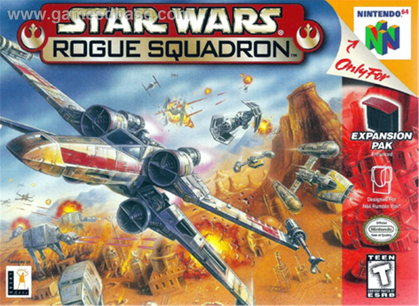 Star Wars Rogue Squadron N64 Box Art Google Search Star Wars