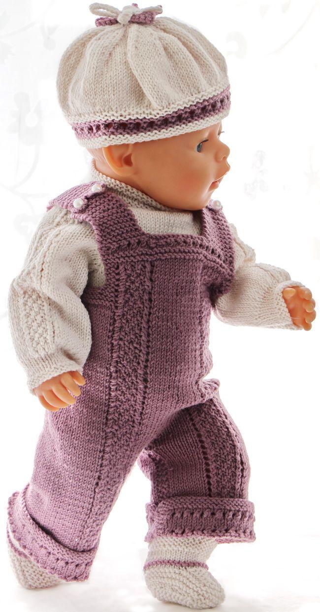 puppen pullover stricken anleitung - | poppen en kleding | Pinterest ...