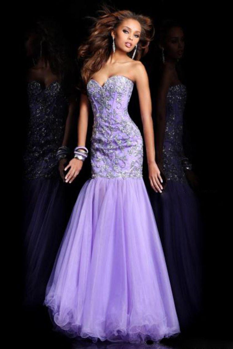 Contemporáneo Azul Sherri Vestidos Prom Colina Ideas Ornamento ...