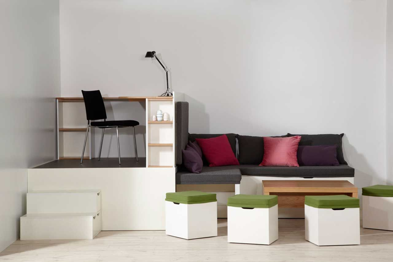 furniture for compact spaces. Multifunctional Matroshka Furniture Set For Small Spaces Compact A