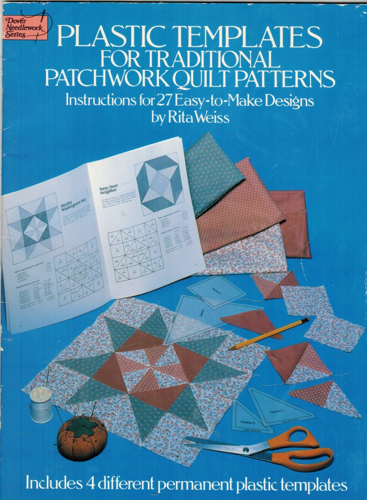 27 traditional patchwork quilt patterns with plastic templates rita weiss quilting applique patterns pinterest patchwork quilt patterns