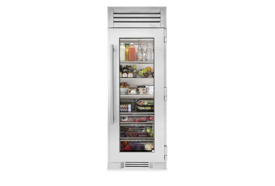 10 Easy Pieces Glass Door Refrigerators Remodelista Glass Door Refrigerator Column Refrigerator Glass Door