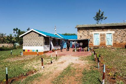 Penta Flowers Premiumprosjekt: Deler av Fairtrade- premiumen har gått til barnehager for både de ansatte ved plantasjene og resten av lokalsamfunnet.
