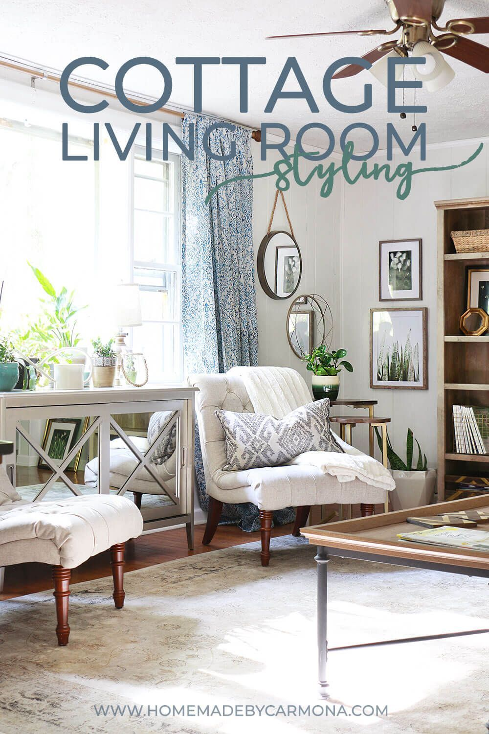 Not too long ago, my cottage living room resembled ...