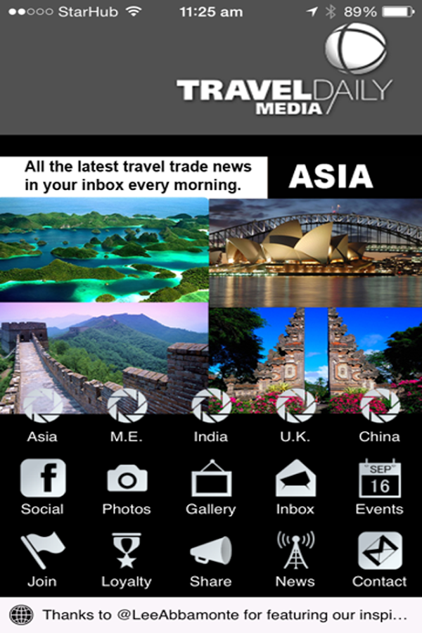 Thank you for trusting us TRAVEL DAILY MEDIA... If you are in need of Mobile Application Developer!! Hurry Contact!! Visit website www.bananamobileapps.com or Email johnavenell@gmail.com