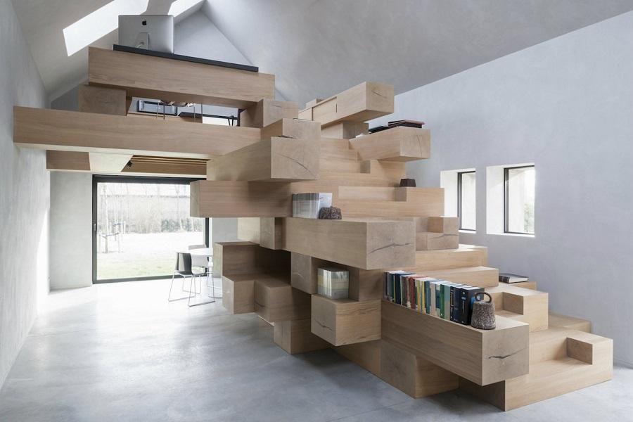 La increíble transformación de un establo abandonado convertido en oficina. Decohunter. Lee más aquí