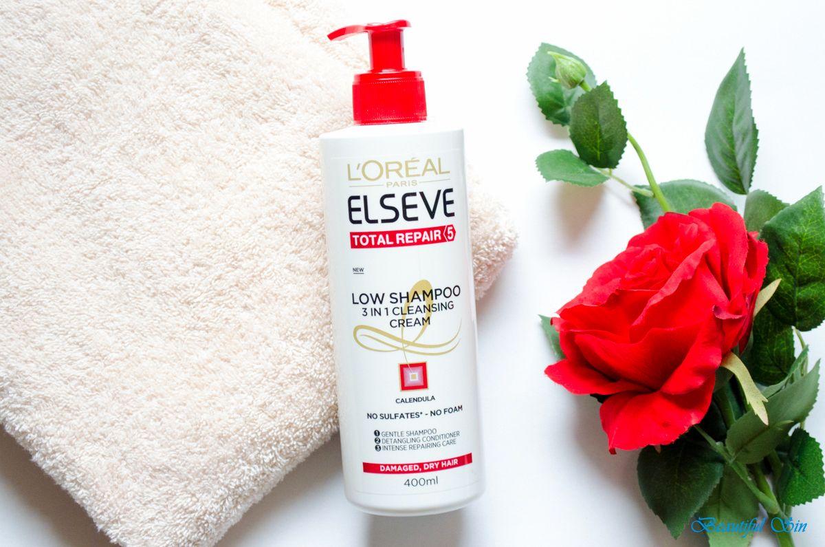 Loreal Paris Elseve Total Repair 5 Low Shampoo 3 1 L Oreal Repair5 Hair Mask 200ml