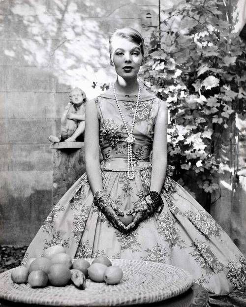 1956, Nico by Herbert Tobias.