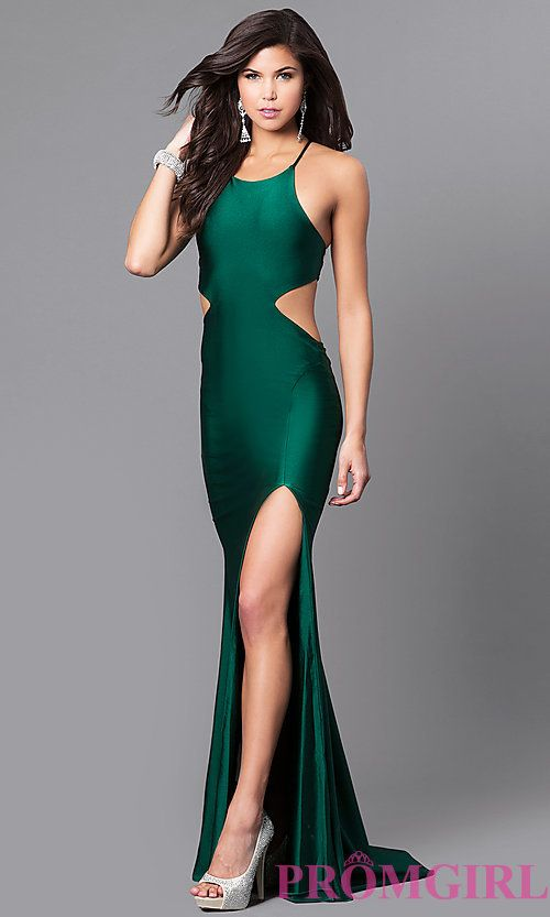 High Neck Long Atria Prom Dress With Open Back Formal Dresses Prom Formal Prom Dresses Long Prom Dresses