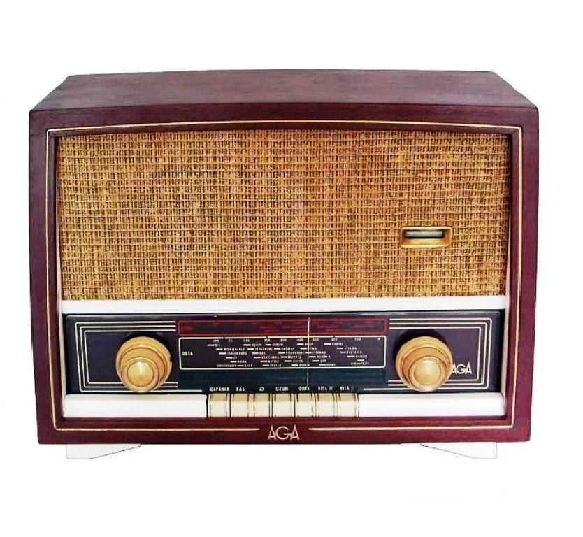 1930 AGA Antika Radyo | Antika radyo, Antikalar, Radyo
