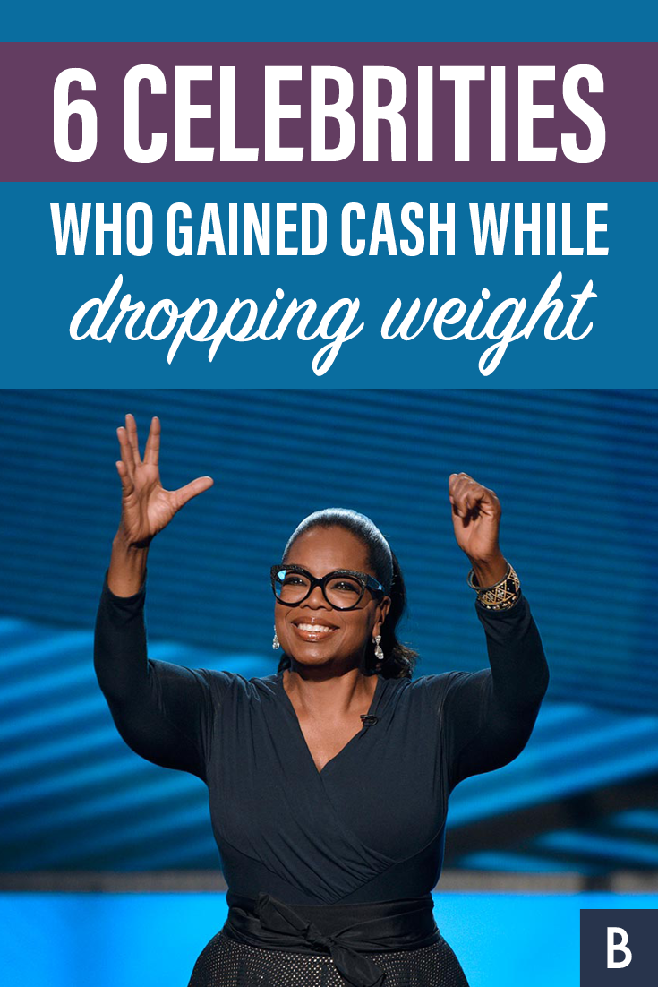 Oprah Winfrey Isn T The Only Star Shedding Pounds With A Diet And Making Money Take A Look At These 6 Celebs Who Gain Frugal Tips Bankrate Com Oprah Winfrey