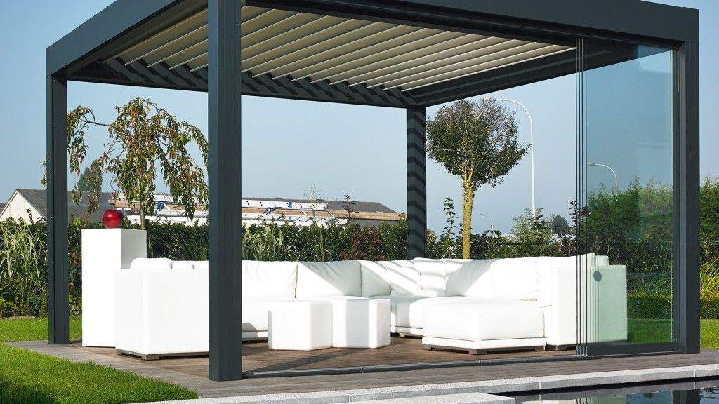 Pergola met lica greendesign terrazas pinterest for Terrazas modernas exterior