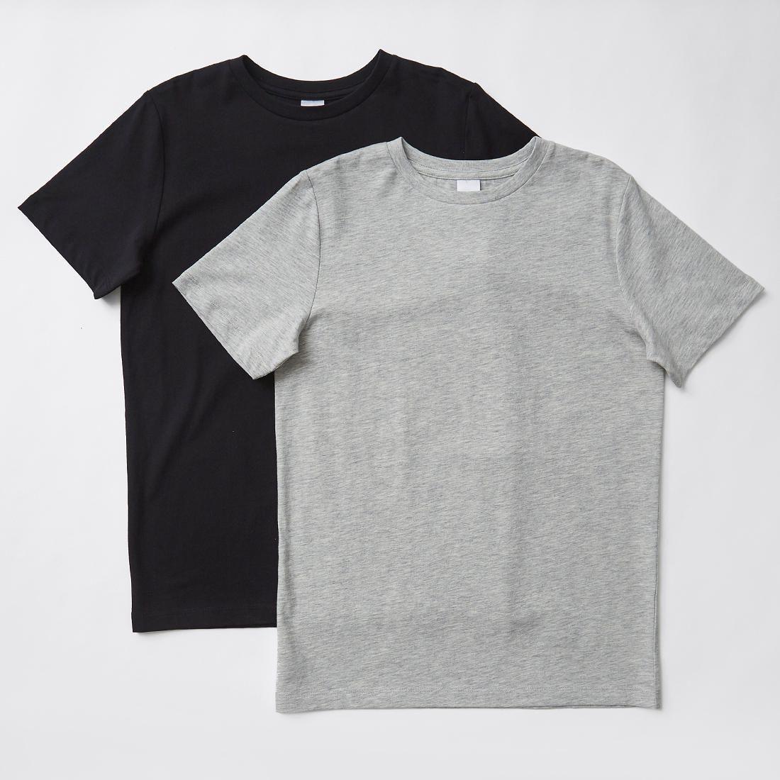 fd6dd6ad82 2 Pack Plain T-Shirts in 2019 | clothes | Shirts, T shirt, Plain tees