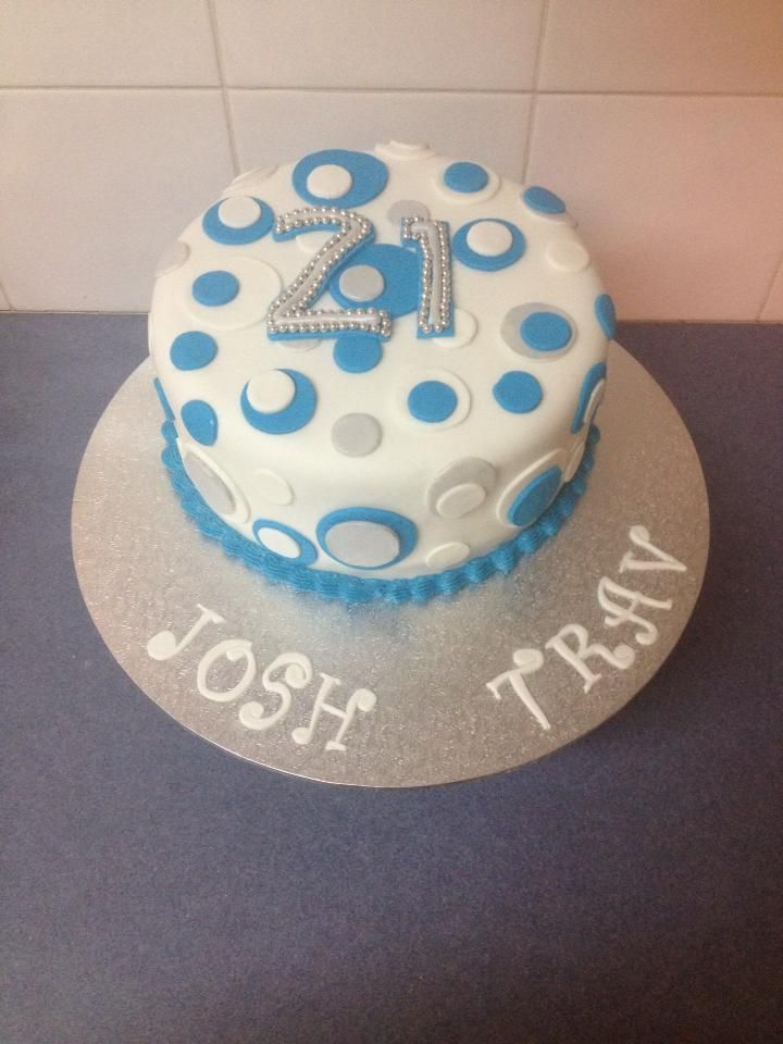 21st Birthday Cake For Twin Boys Holly Beecham Cake Designs
