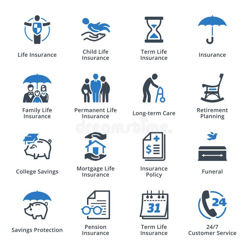 Life Insurance Icons Blue Series This Set Contains Life Insurance Icons That Sponsored Blue Series Icons Protection Life Life Insurance Protection