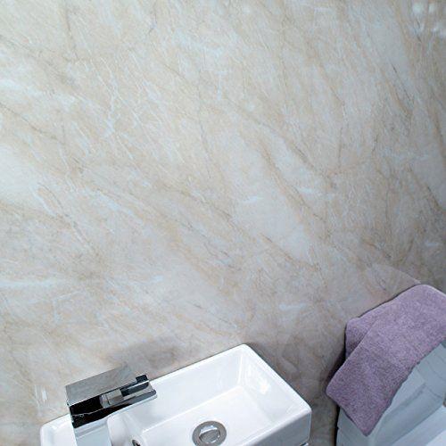 Claddtech Shower wall bathroom panels Large 2.4m x 1m- Be... https ...
