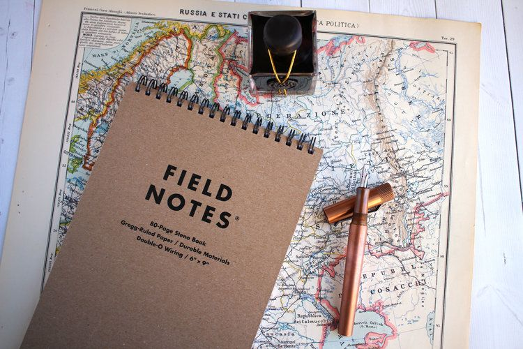 Field Note Steno Lined Notepad Available At The Leather Quill