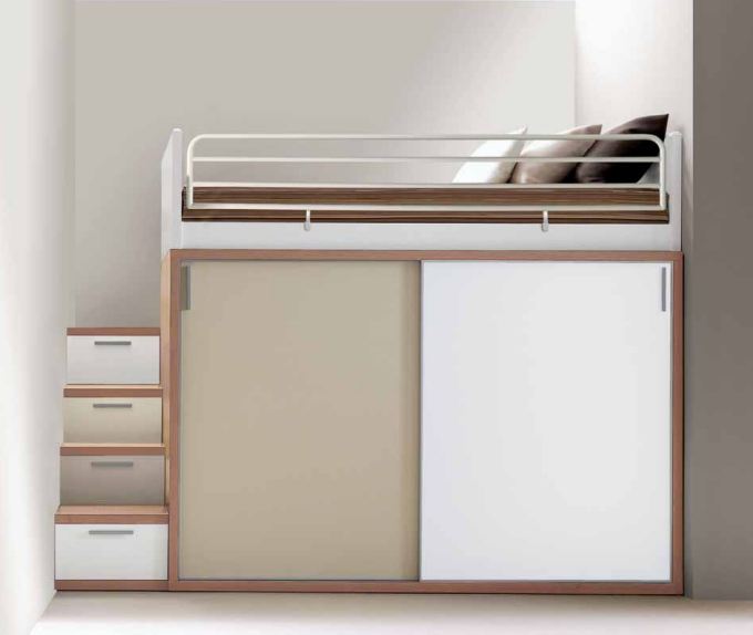 Letto Singolo Con Armadio.Letto Singolo Con Armadio Sotto Master Room Ideas