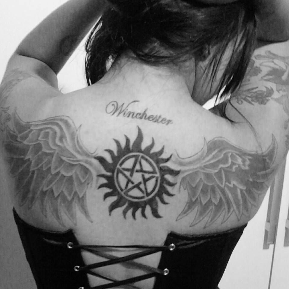 Supernatural Show Tattoos: Halfsleeve Colt From Supernatural Tattoo Simbolyey T