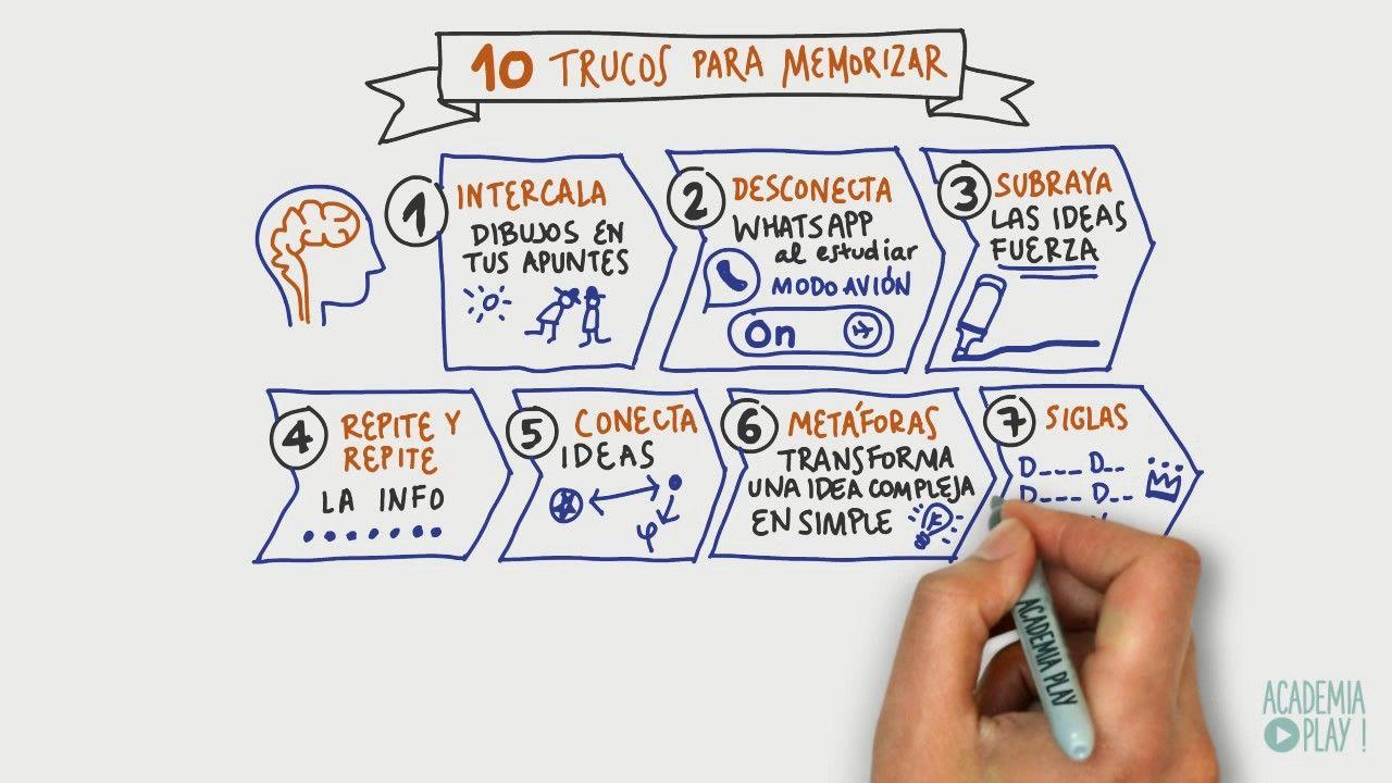 10 trucos para memorizar