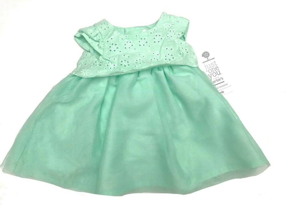 5f38645a94764 Newborn mint just one you Carter's Special Occasion Girls Dress #fashion # clothing #shoes #accessories #babytoddlerclothing #girlsclothingnewborn5t  (ebay ...