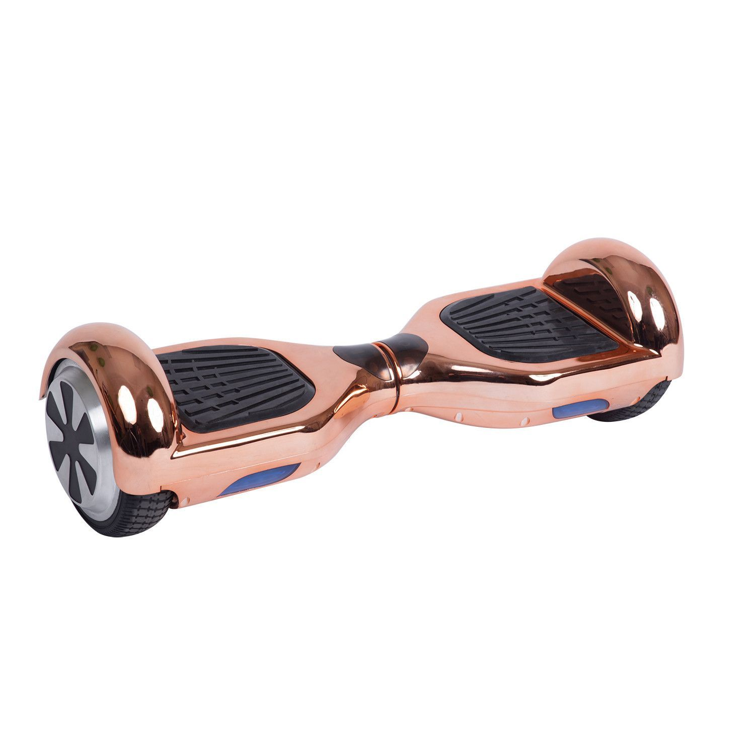 Self Balancing Hoverboard Chrome Rose Gold Lifetime Warranty