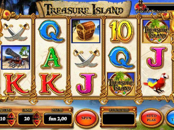 Остров сокровищ игровые автоматы