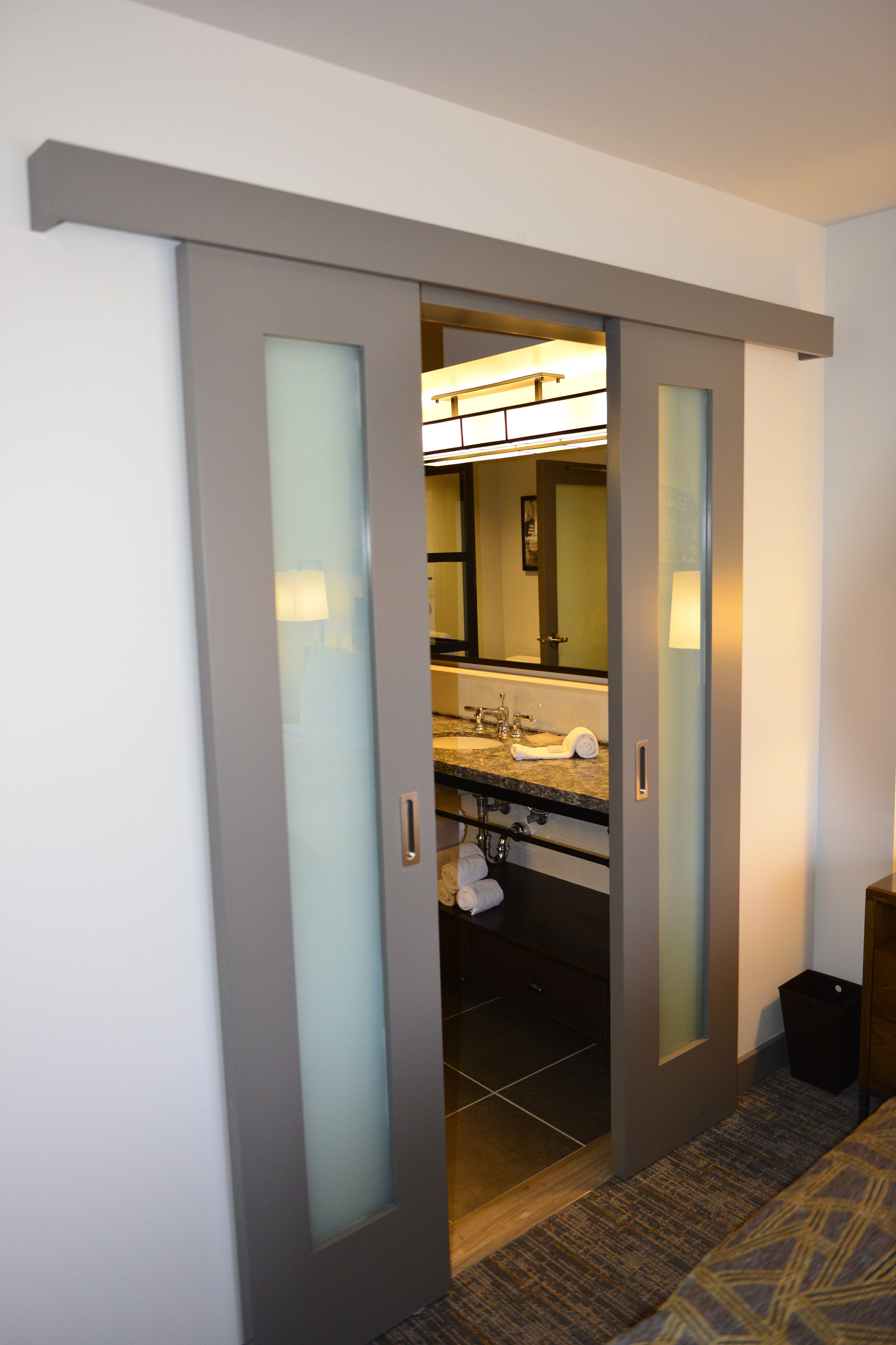 Dsi Slim Line Wall Slider Stile & Rail Doors With
