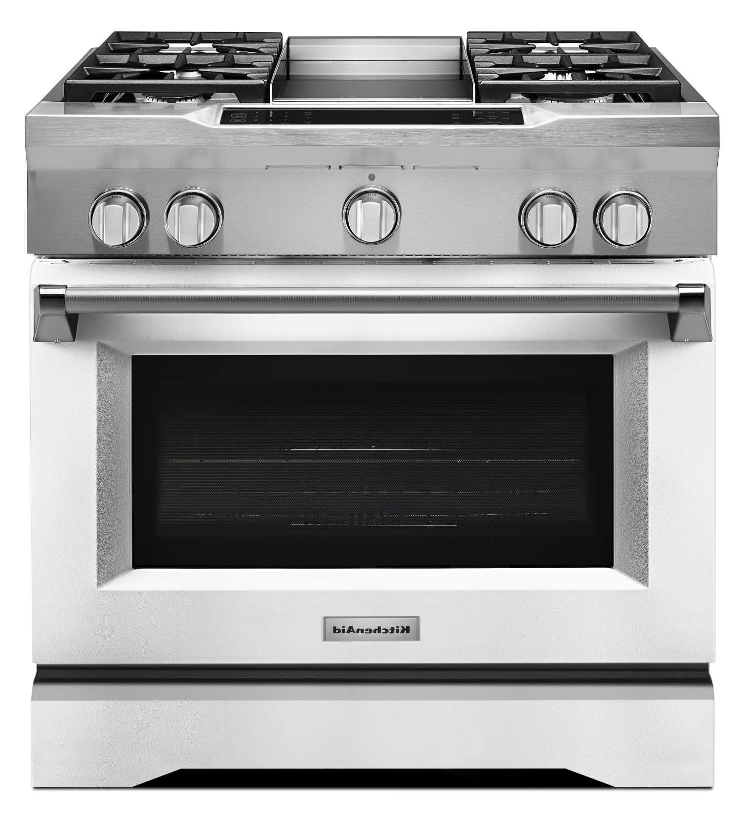 Kdrs463vmw Kitchenaid 36 4 Burner With Griddle Commercial Style Kompor