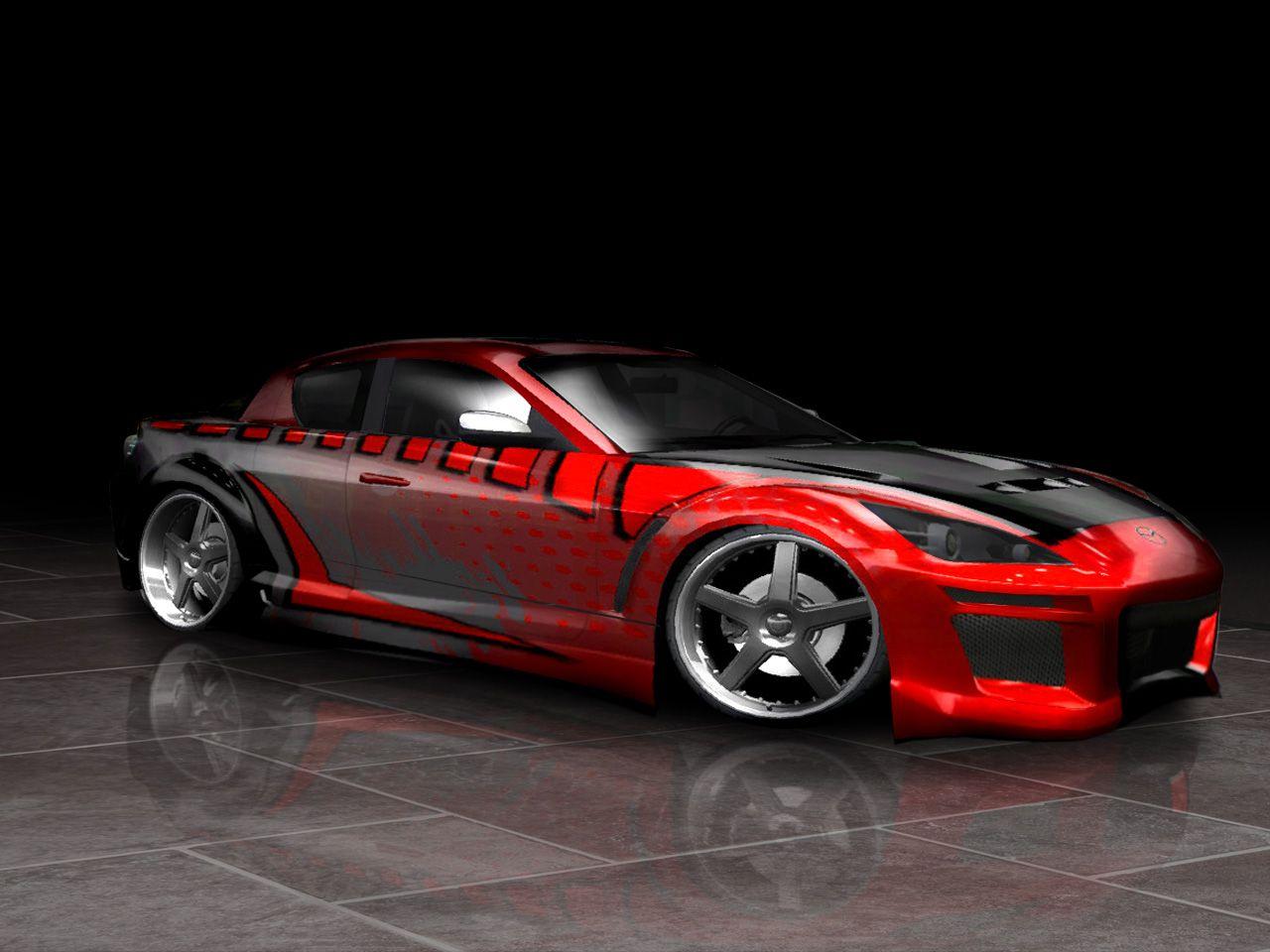 Custom Mazda Rx 8 Mazda Cars Mazda Custom Cars