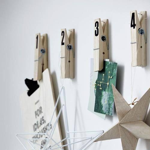 10 manualidades con pinzas de madera para decorar tu casa 1 ...