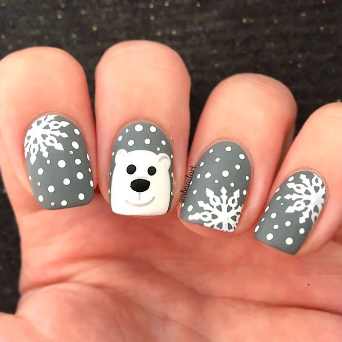 50+ Christmas Nails Designs For Much Joy | NailDesignsJournal.com