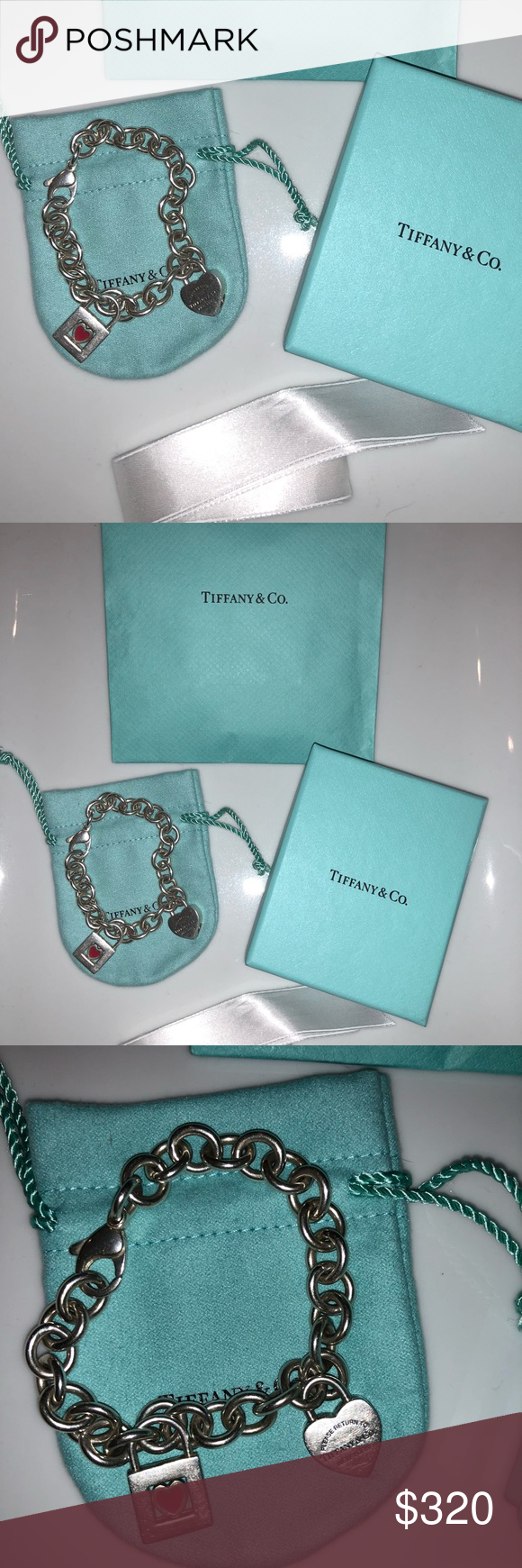 Sale tiffany u co charm bracelet tiffany box tiffany and