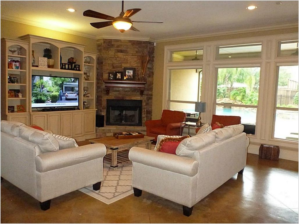 44 The Forbidden Facts About Large Living Room Layout With Fireplace And Tv Furniture Arrange In 2020 Rectangular Living Rooms Family Room Layout Rectangle Living Room
