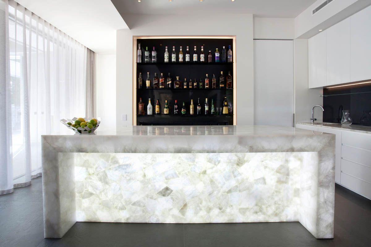 1 8141 White Quartz™ - Touch Wood Cabinetry | Home ideas | Pinterest