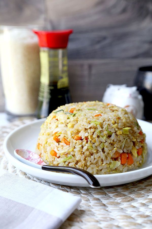 Japanese fried rice no teppanyaki grill top needed to whip up this japanese fried rice no teppanyaki grill top needed to whip up this simple and savory japanese fried rice recipe easy to make and ready in 18 min forumfinder Image collections