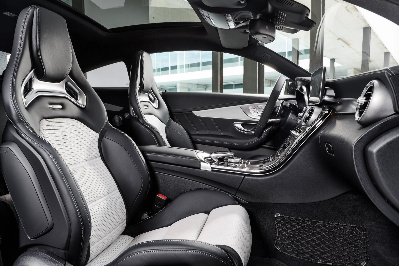 Mercedes Amg C63s Amg Coupe Interior Mercedes Benz C63 Amg