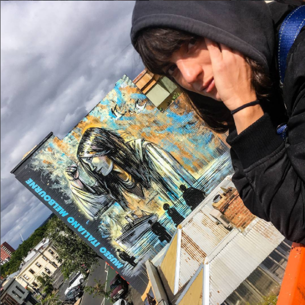 Alice Pasquini: il suo nuovo murale è in Australia