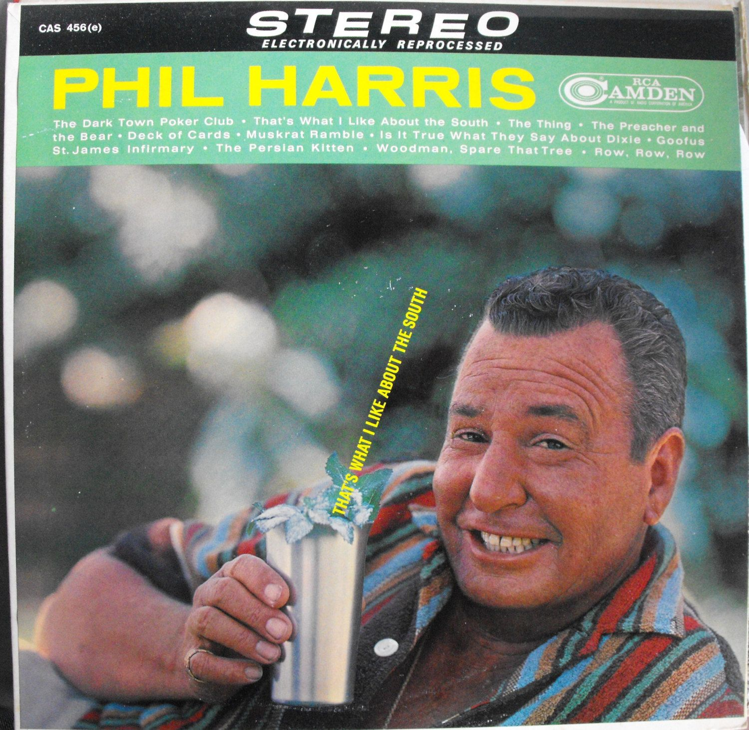 Phil Harris, That's What I Like About the South, Vintage Record Album, Vinyl LP…