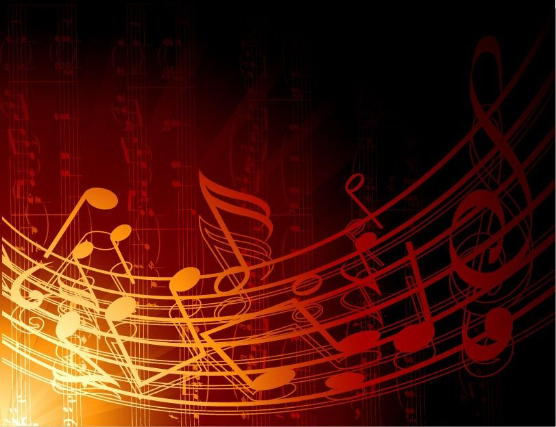Graphic Design Backgrounds | Abstract Music Background
