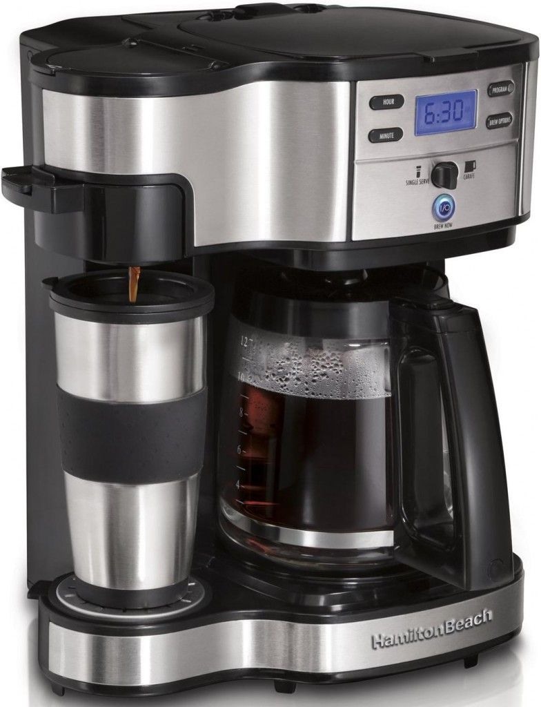 Hamilton beach coffee brewer coffee review single
