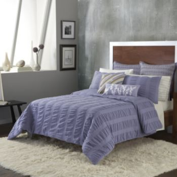 Apt 9 Ripple 3 Pc Comforter Set Full Queen Decore