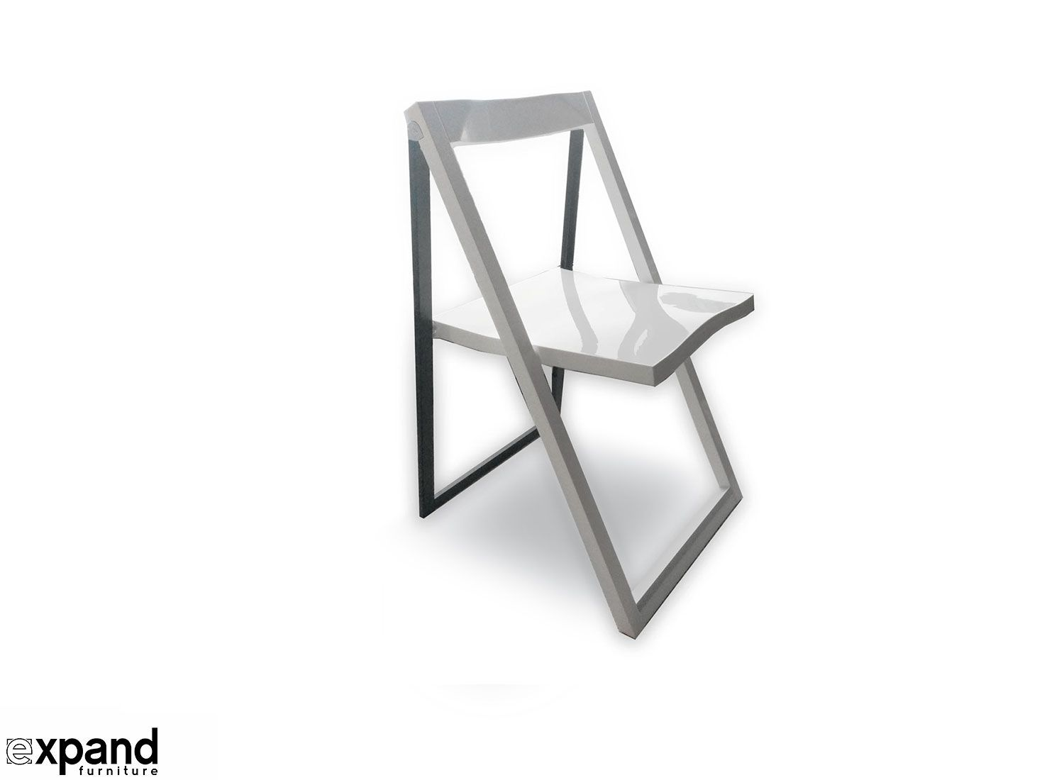 Our premium designer space saving folding chairs are eye pleasing with its  angular lines that evoke