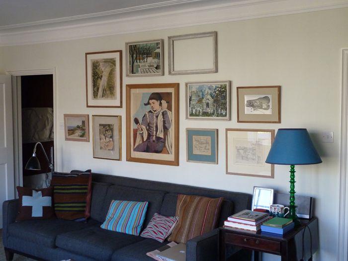 Frame cluster | Apartment | Pinterest | Empty frames, Frame display ...