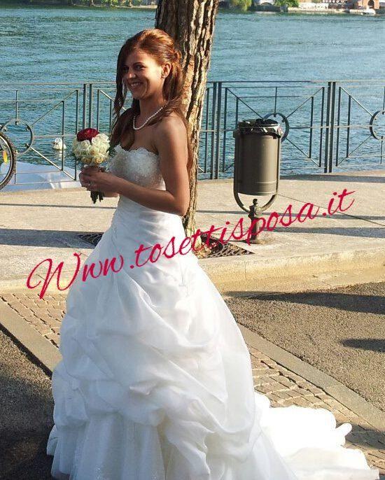 Le spose più sorridenti, più belle, più e emozionate? ...le nostre.....siete meravigliose!!!!!! Lo staff tosettisposa Www.tosettisposa.it