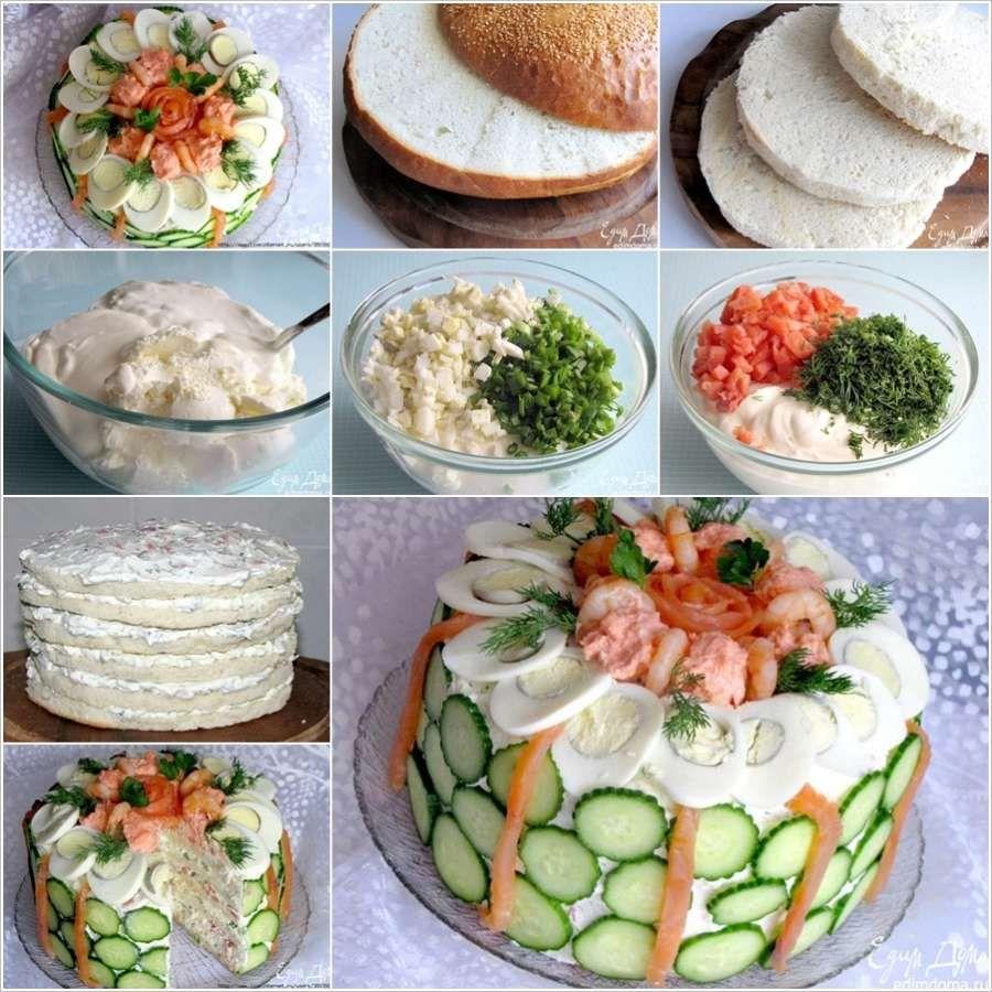 Sandwich Cake Featured Wonderful DIY Delicious